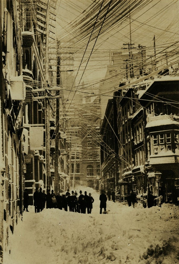 19th Century New York Was Covered in an Insane Web of Telephone Wires