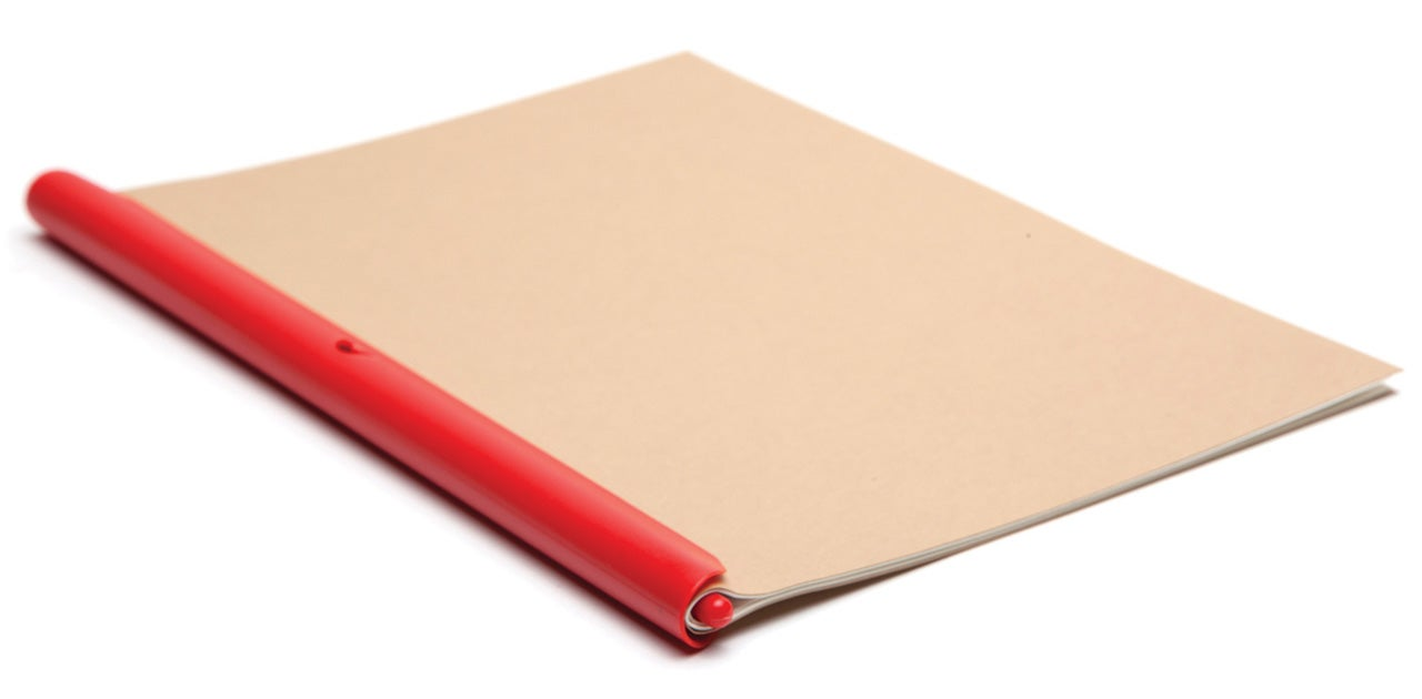 A Clip That Turns Any Stack of Paper Into a Homemade Notebook