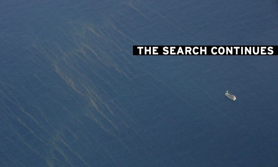 Malaysian Official: Oil Slicks Found in Ocean Not From Missing Flight