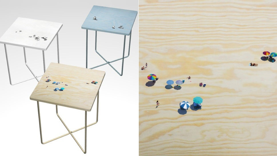 Every Meal Time's an Adventure With These Scenic Tables