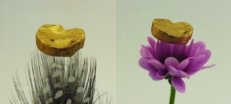 aerogel gold gold-aerogel