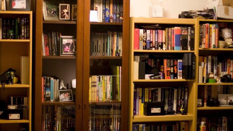 bookshelf household interior-design