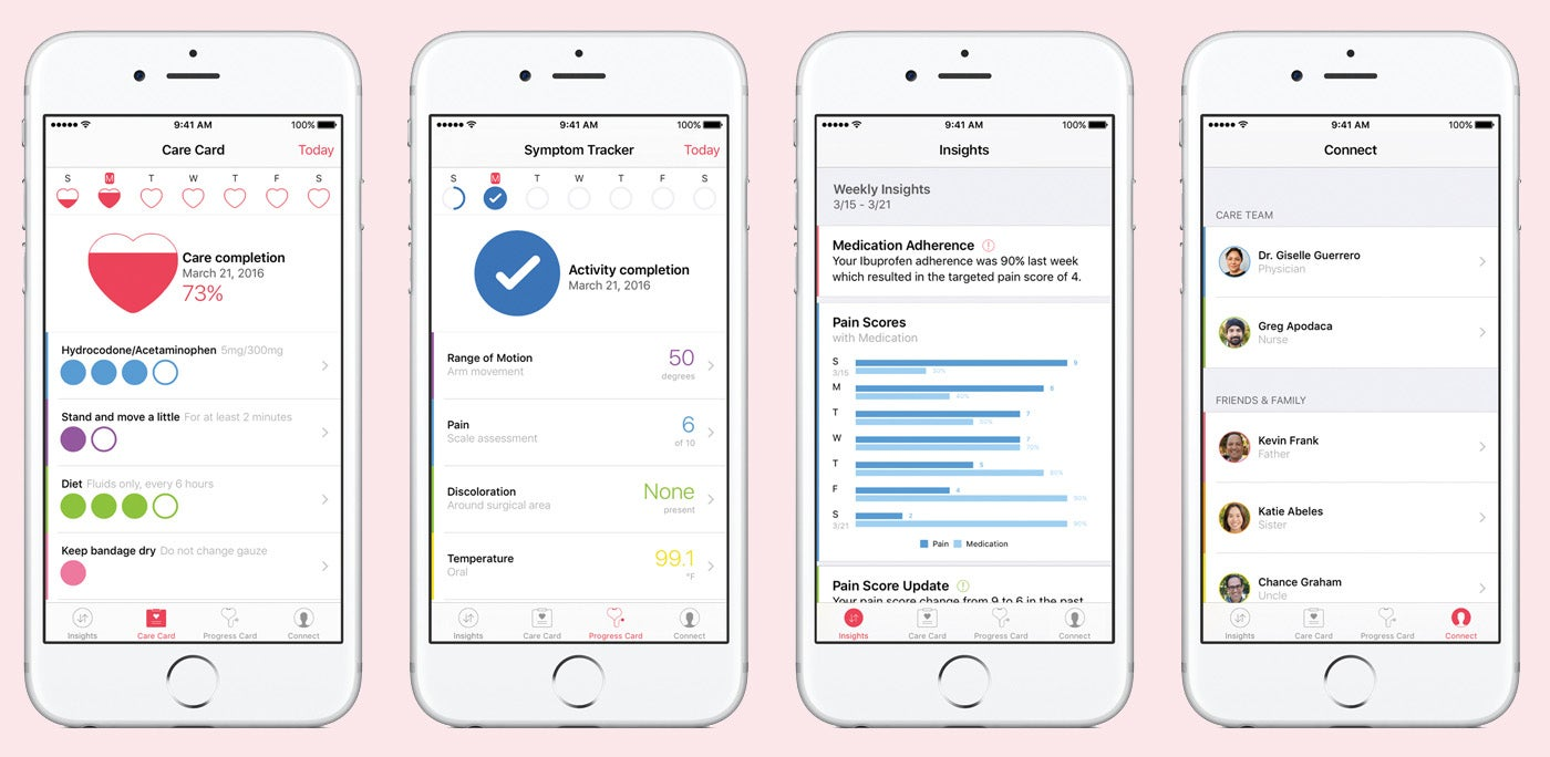 apple apps carekit health medicine