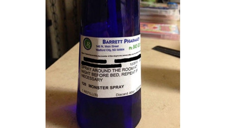 Greatest Pharmacist Ever Prescribes Anti-Monster Spray for 6-Year-Old