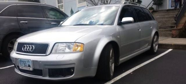 For $13,900, This Audi S6 Is An RS-ed Development