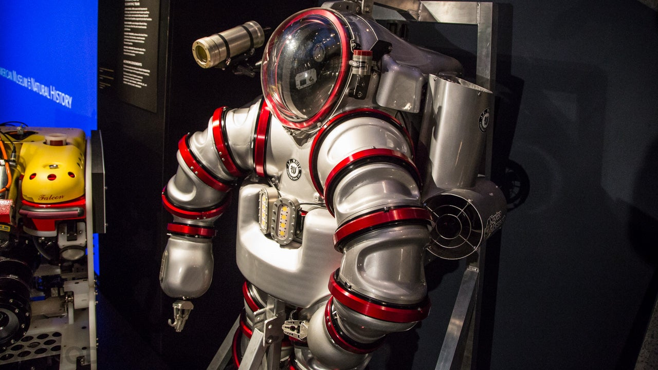 This Awesome Next-Generation Exosuit Goes 1,000 Feet Under the Ocean