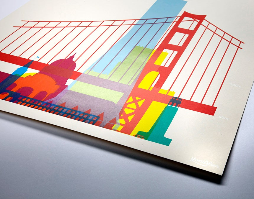 These Gorgeous Screenprints Showcase a City's Most Famous Structures