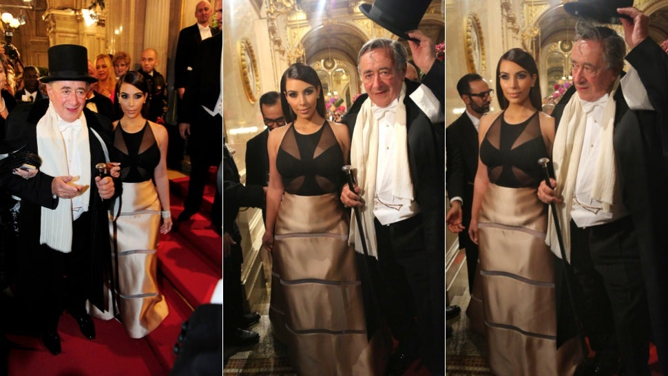 Kim Kardashian Flees Viennese Ball After Blackface Incident