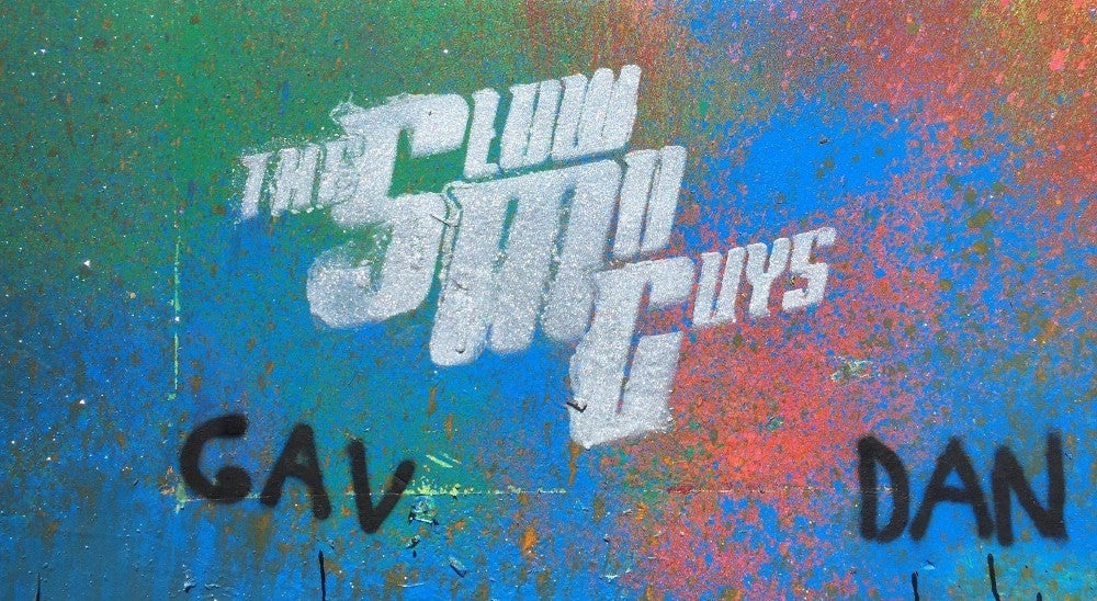 art charity ebay high-speed-camera spray-paint the-slo-mo-guys youtube