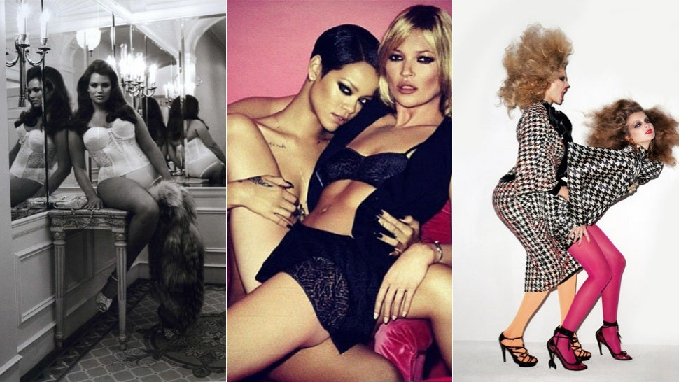 Girl Crushes and Fashion's Discomfort With Authentic Lesbian Sexuality