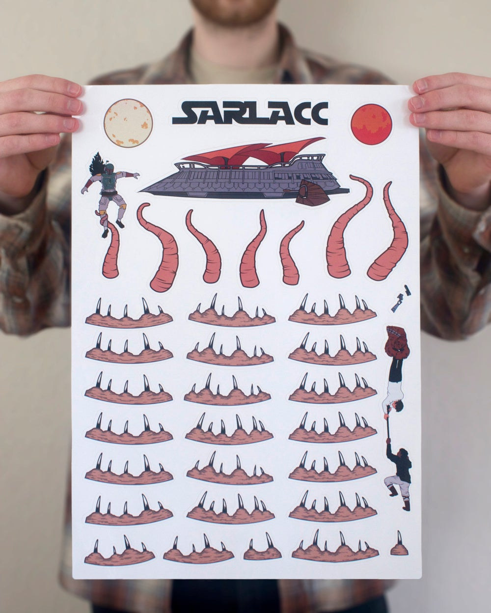 Awesome Decals Turn Your Toilet Bowl Into a Deadly Sarlacc Pit