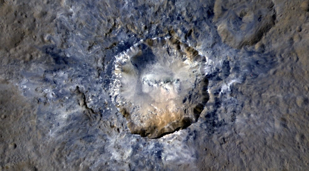 astrogeology ceres ceres-bright-spots craters geology mysteries nasa space space-geology space-mystery
