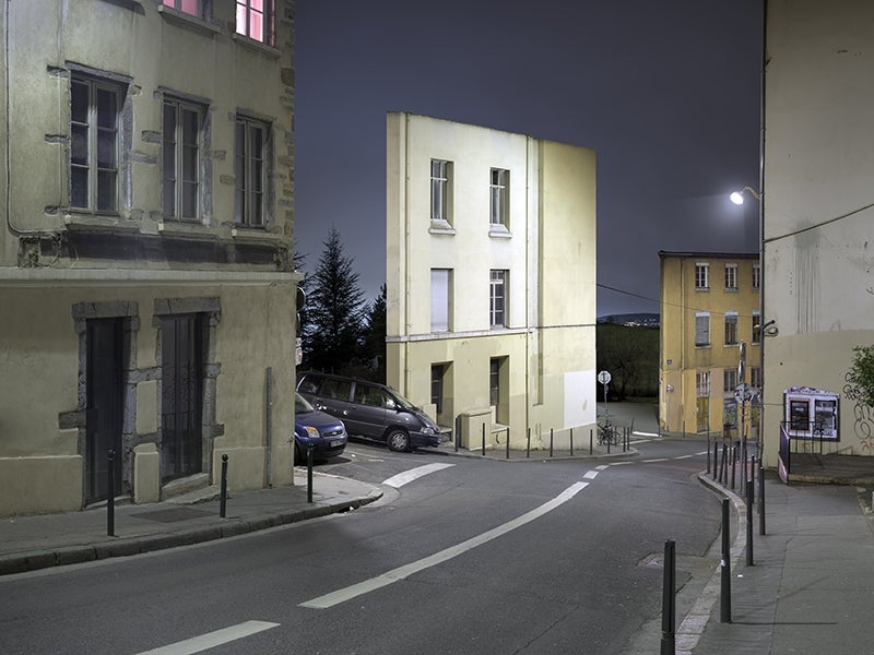 Ghostly Facades With No Buildings Behind Them
