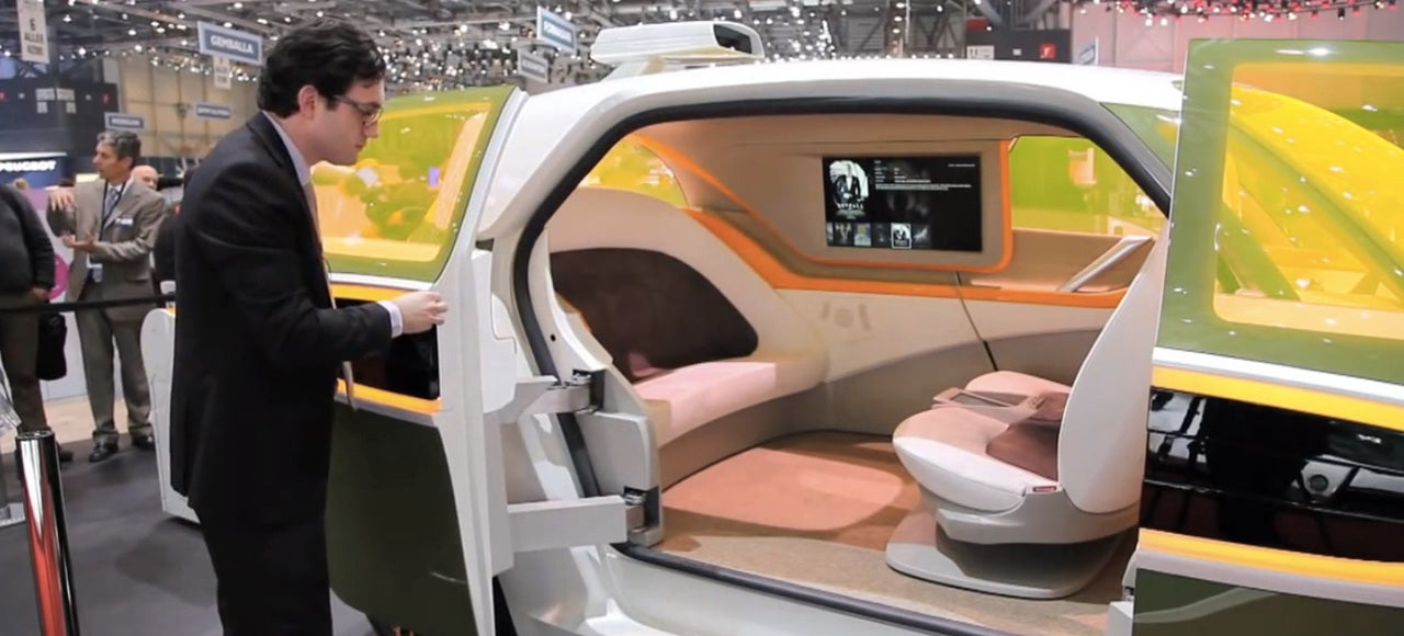 Is This Ride-Sharing Smart Minivan the Future of Self-Driving Cars?