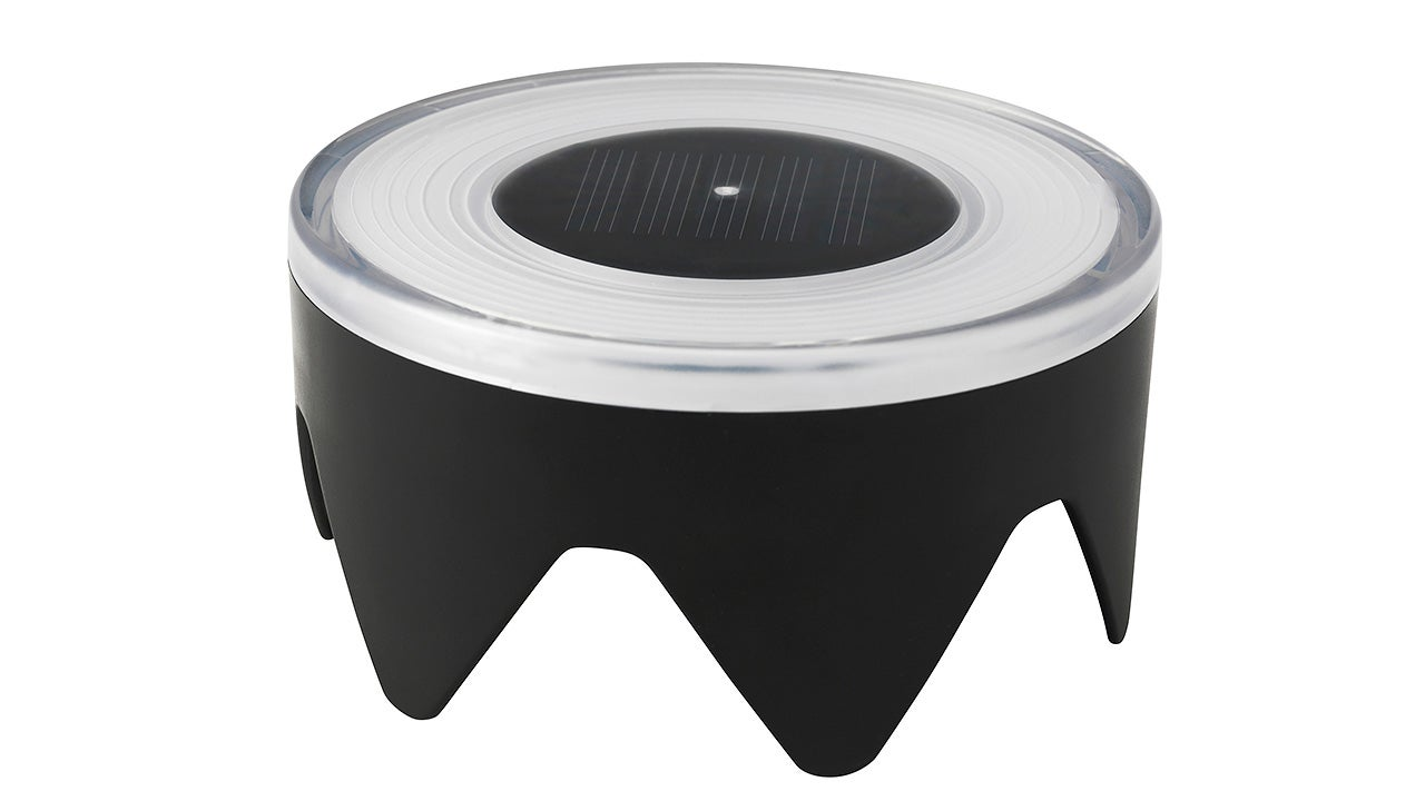 You'll Never Trip Over This In-Ground Solar Light