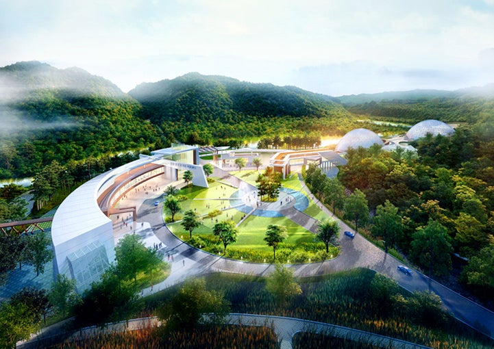 South Korea Is Building a Series of Biodomes for Endangered Species