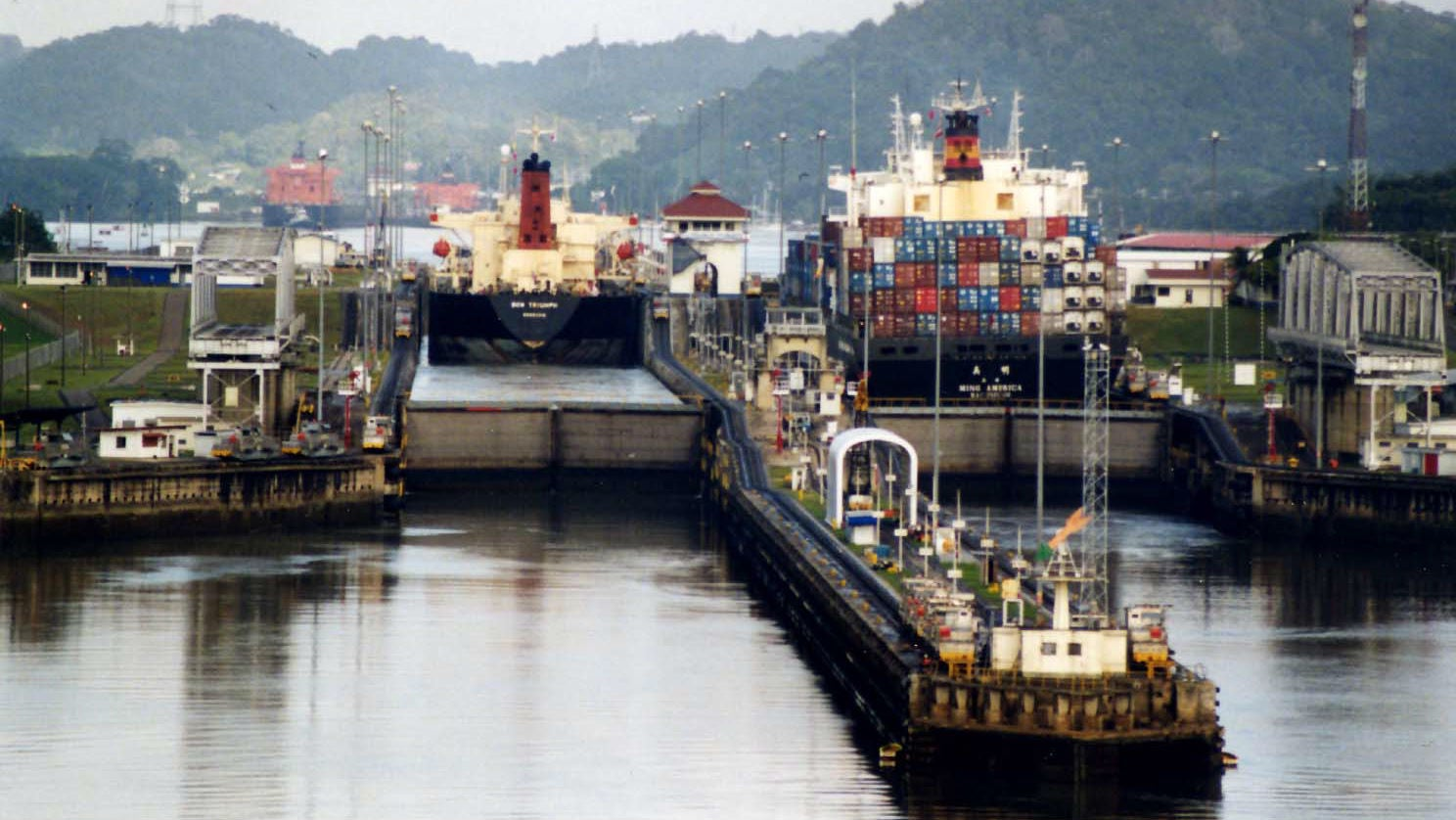 The Panama Canal's Newest Gates Are Truly Gargantuan