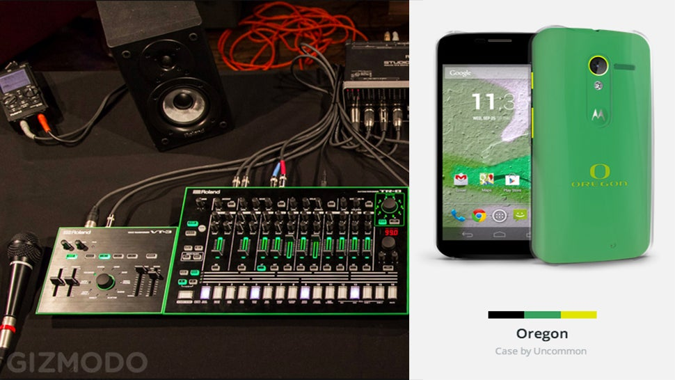 Now Available: Roland Aira, Letterman Jacket For Your Moto X