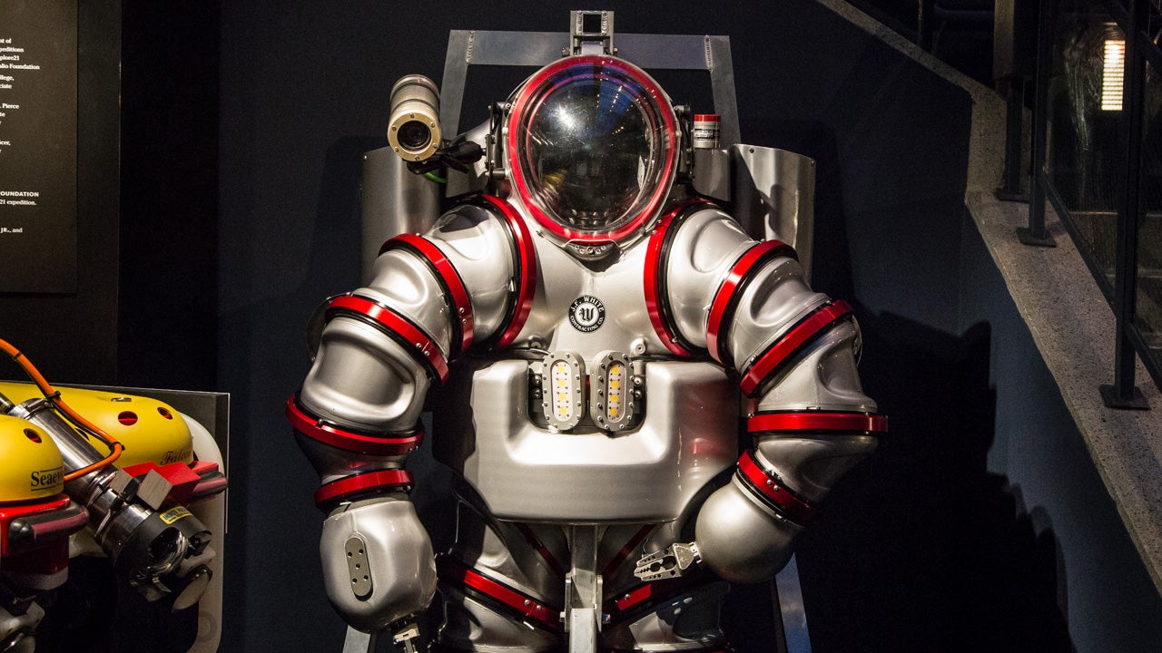 The Exosuit: What Tony Stark Would Wear Underwater