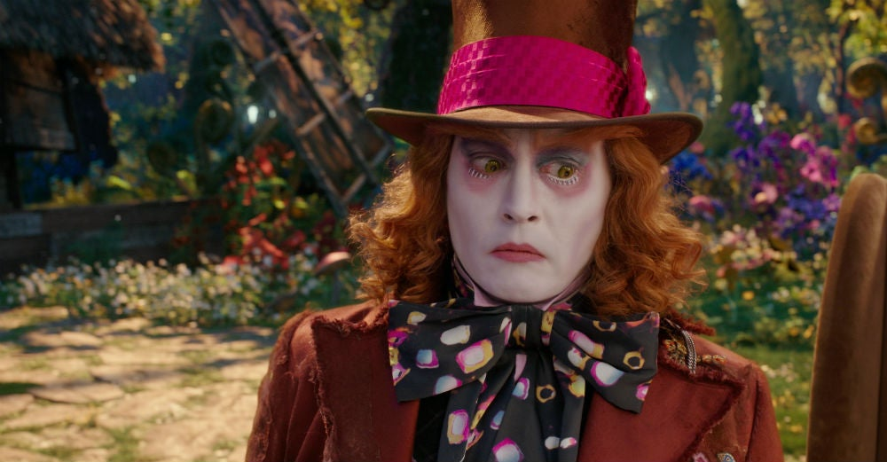 alice-through-the-looking-glass helena-bonham-carter io9 james-bobin johnny-depp mia-wasikowska movie-review movies sacha-baron-cohen