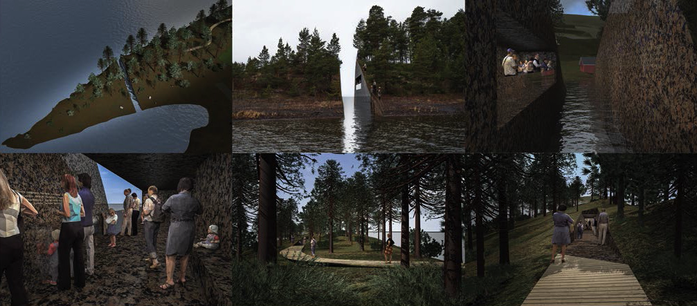 Norway's Lovely Memorial to the Worst Mass Shooting In Modern History