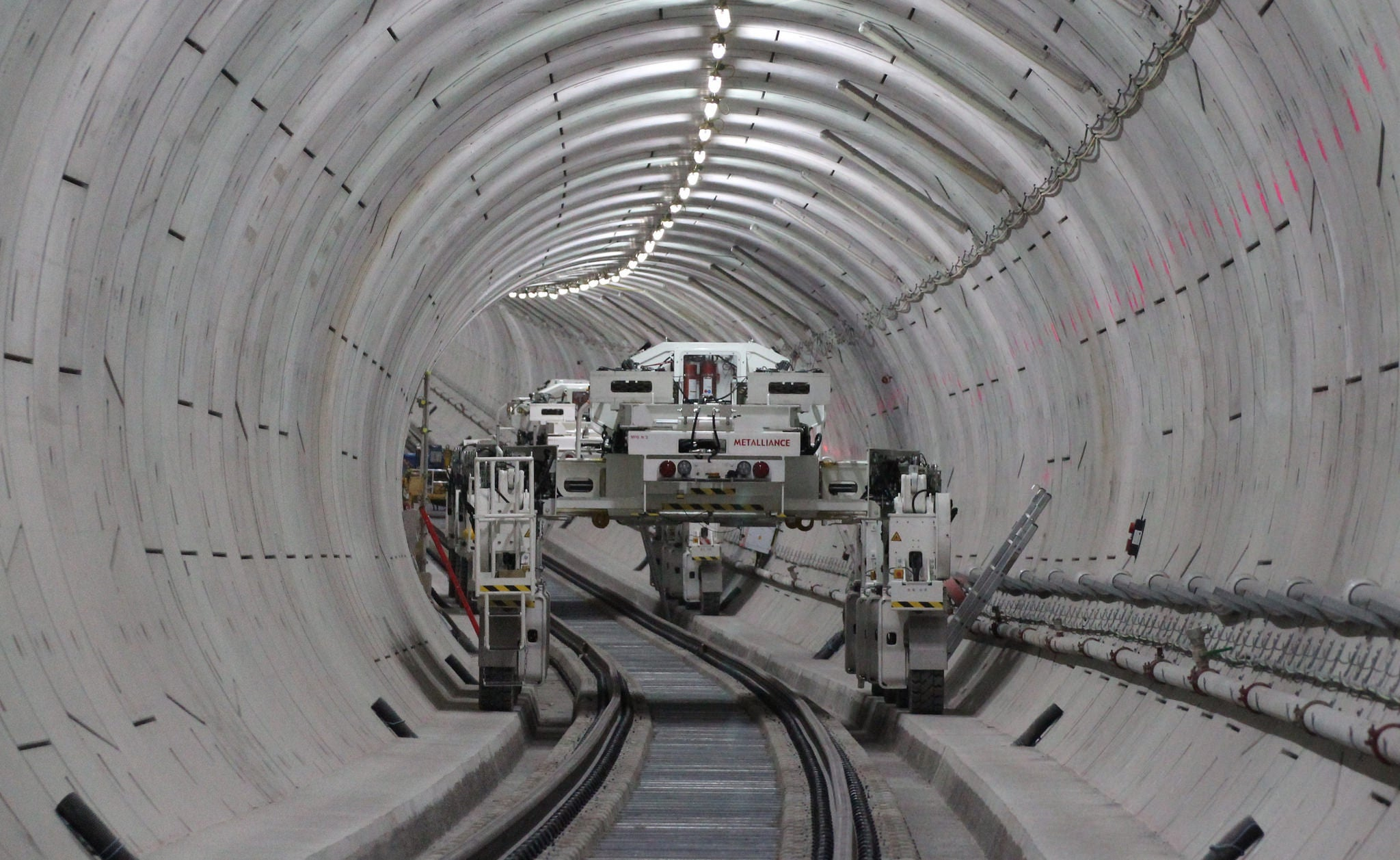 crossrail infrastructure london subway