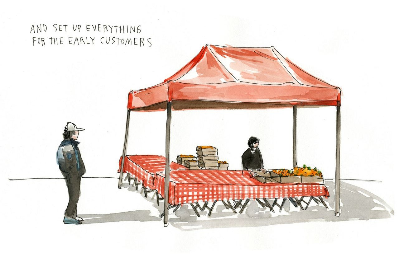 Scenes of San Francisco's Urban Life Told Through Illustrated Stories