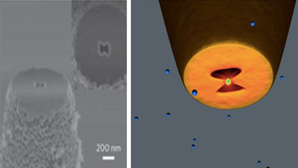World's Tiniest Tweezers Grab Nanoparticles Using Nothing But Light