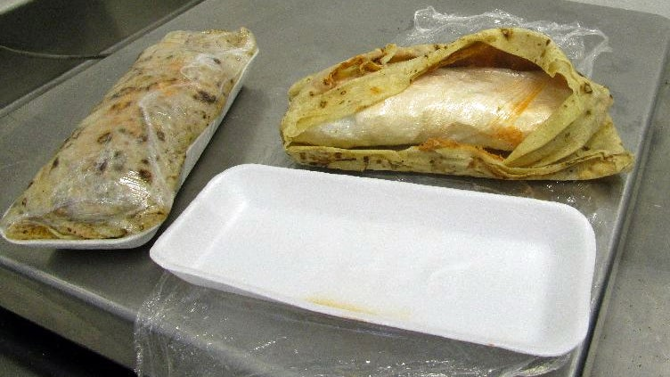 customs-and-border-protection drugs meth-burritos smuggling
