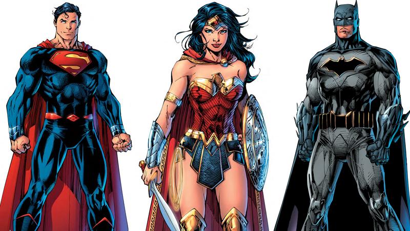 aquaman batman dc dc-comics dc-rebirth green-lantern harley-quinn panel-discussion superman wonder-woman