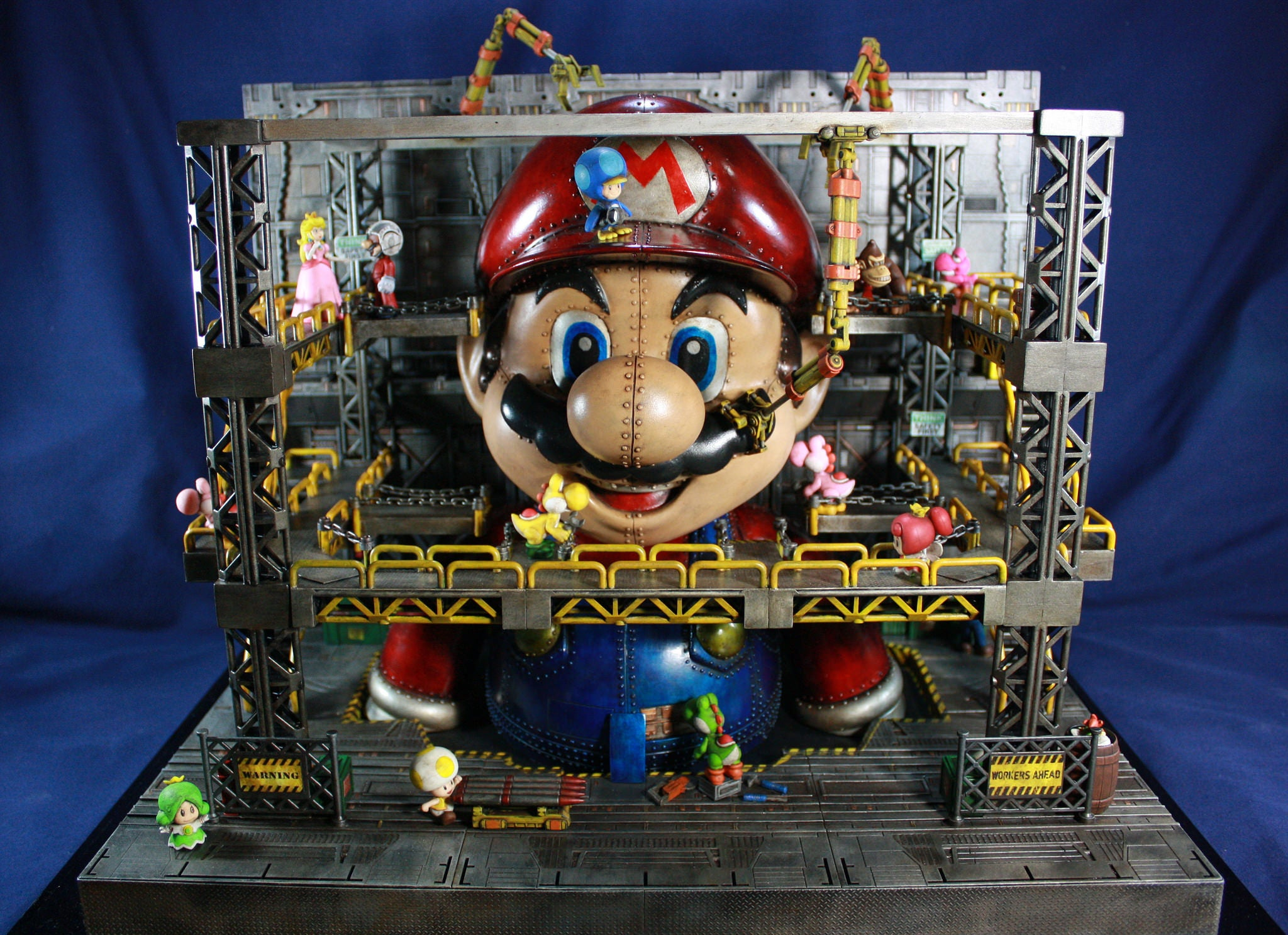 customs its-a-mach-mario mario mech super-mario-bros toys