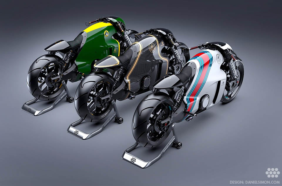 Gorgeous Lotus C-01 bike is half retro, half Tron, full awesome