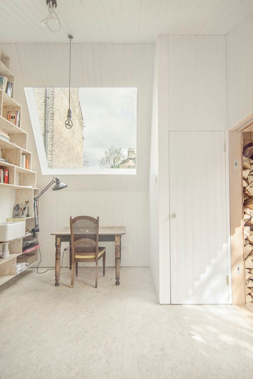 This Cozy Urban Cabin Is A Writer's Dream
