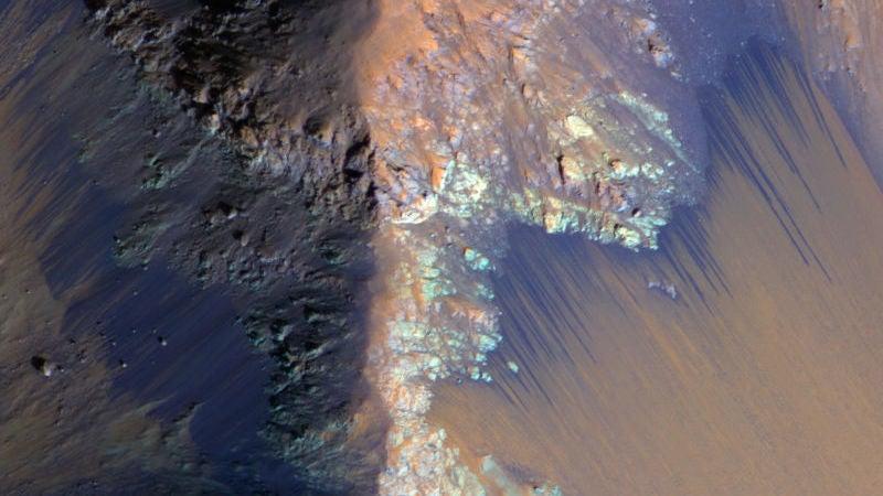 mars mars-water space water