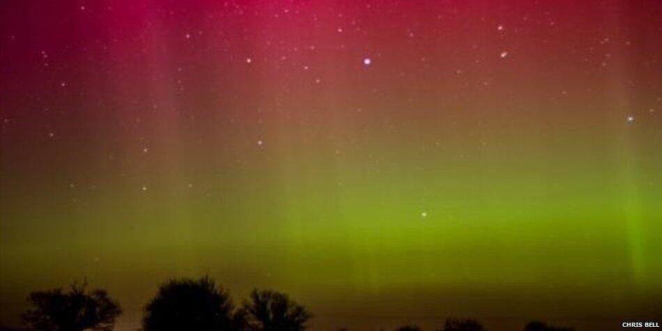 Amazing Views of Last Night's UK Aurora Show