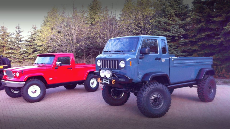 Jeep Mighty FC Concept: This Is Awesome