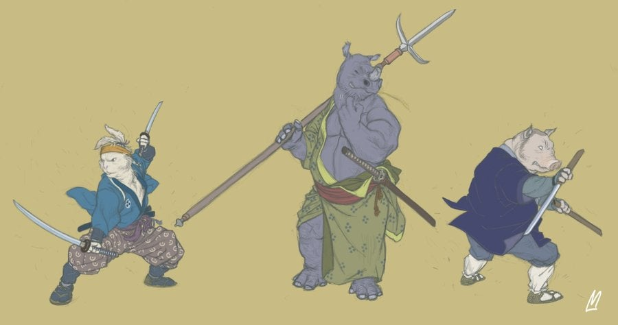 Michael Bay, take a cue from these Ninja Turtle designs