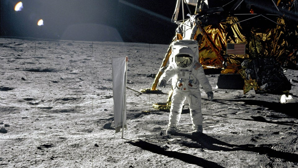 How much of the Moon's surface did the Apollo 11 astronauts actually explore?