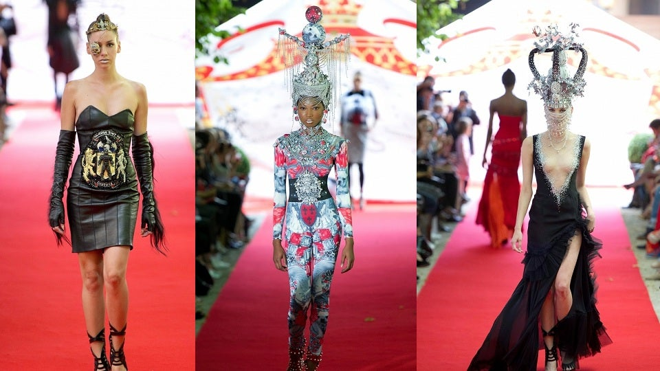 The Most Wonderfully Ludicrous Fashion Show We've Seen in Ages