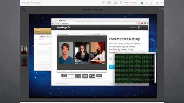 Meetings.io Adds Screen Sharing and File Trading to Easy Video Meetings
