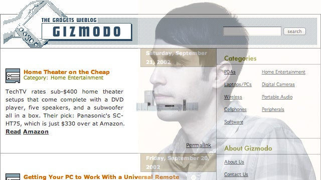 This Is How Gizmodo Started