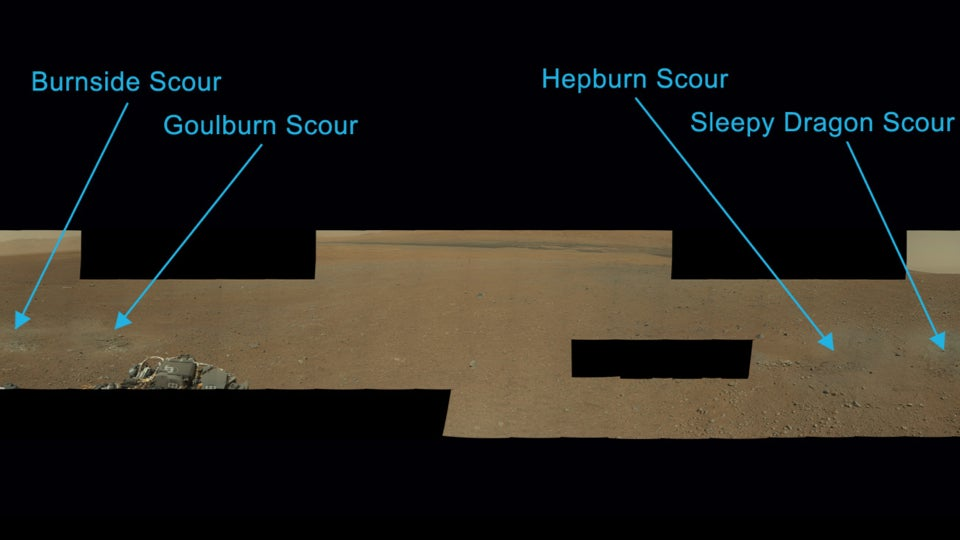 Curiosity has acquired its first scientific targets!