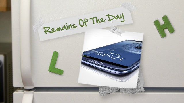 Remains of the Day: Samsung Fixes Security Issues on the Galaxy S III