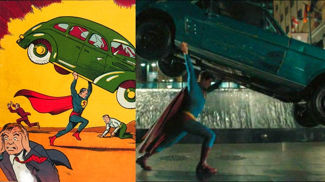 Hidden in Plain Sight: Great Comics Panels Brought to Life at the Movies