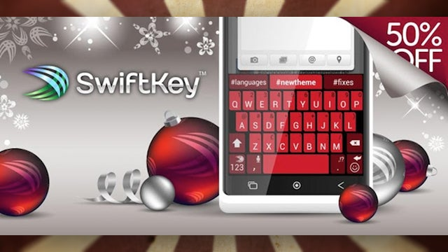 SwiftKey 3 Is Half-Off For the Holidays, Only $1.99 for the Phone or Tablet Version