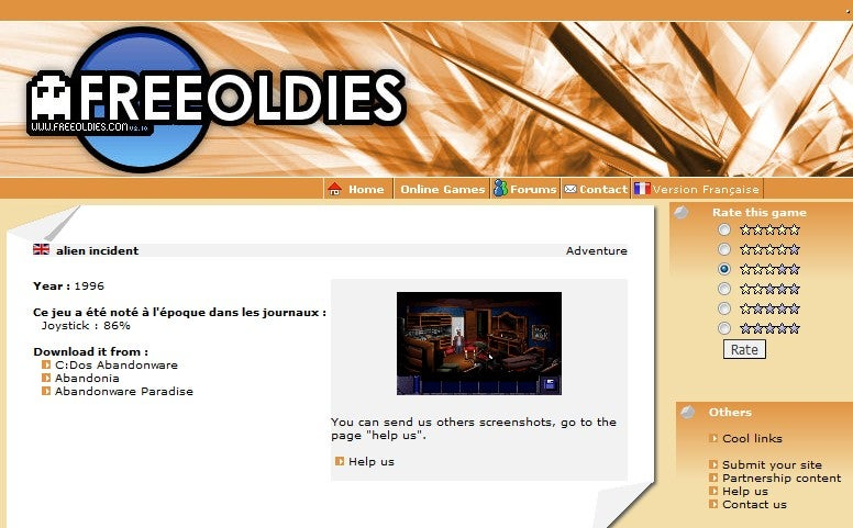 Free Oldies Catalogs Free and Abandonware Computer Games