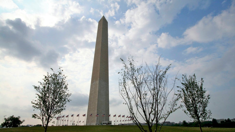 The Earthquake Cracked the Washington Monument