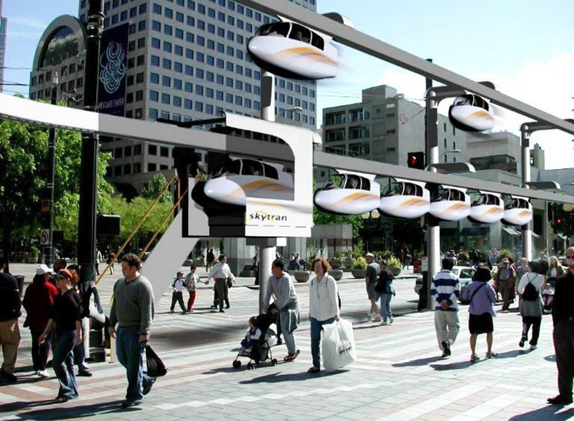 This futuristic-looking mass transit system is really happening