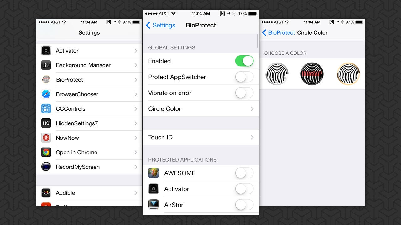 BioProtect Locks Down Your iPhone Apps with Your Fingerprint
