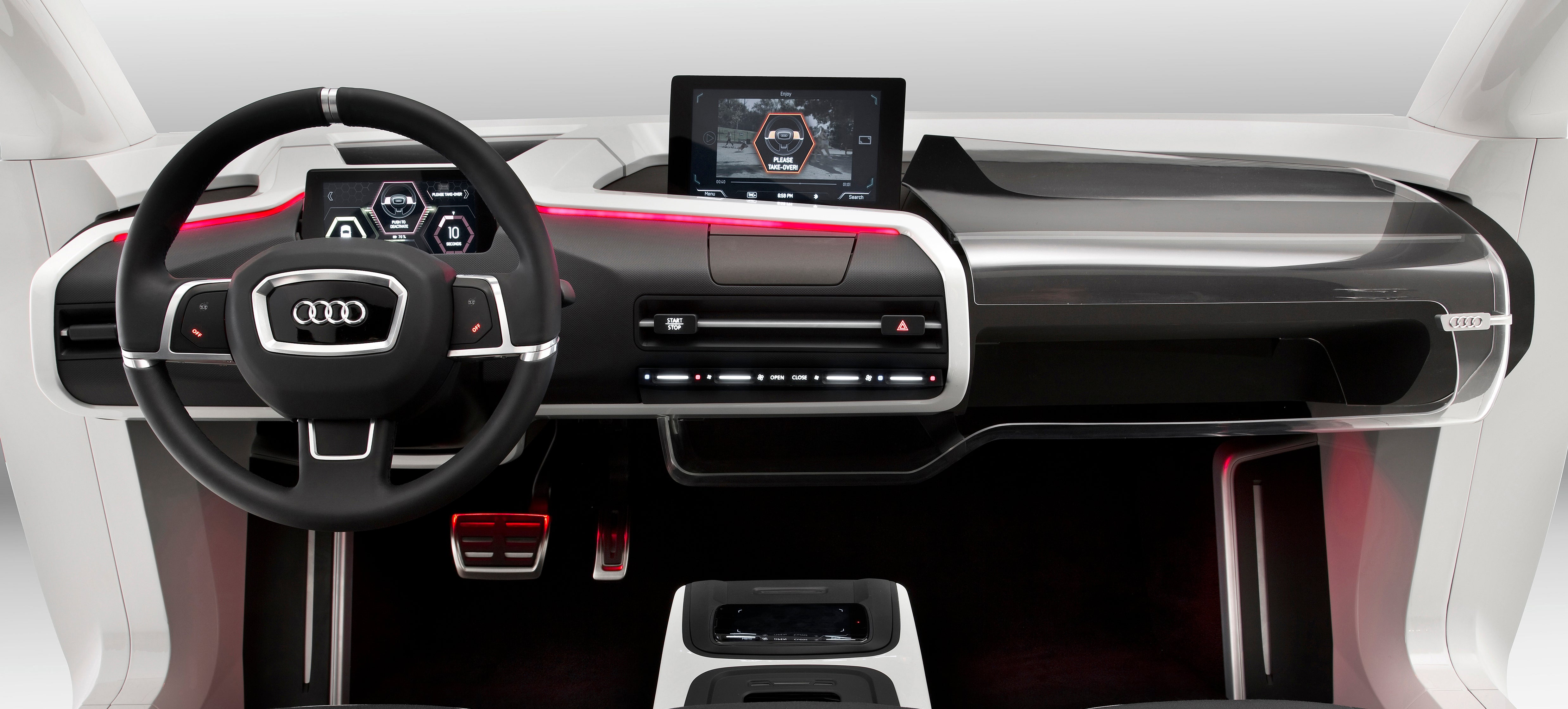 Is This What Your Car's Cockpit Will Look Like In 2025?
